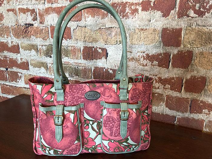 Fashion Bag Pom Leather