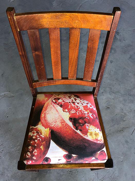 Heritage Dining Chair Pom Arils