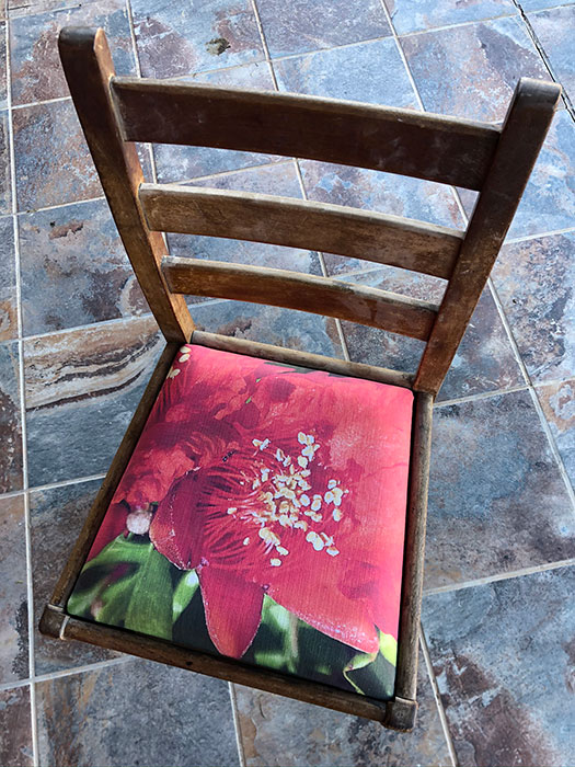 Heritage Dining Chair Pom Blossom