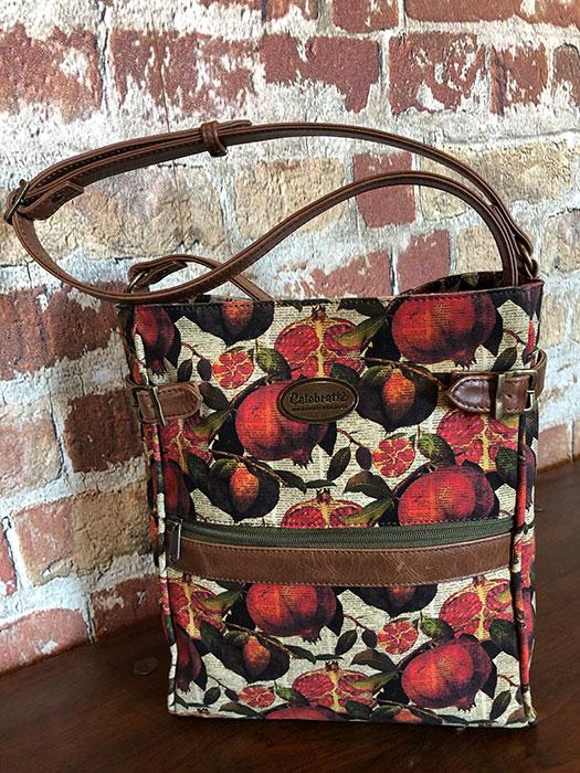 Satchel Pom Brown Leather