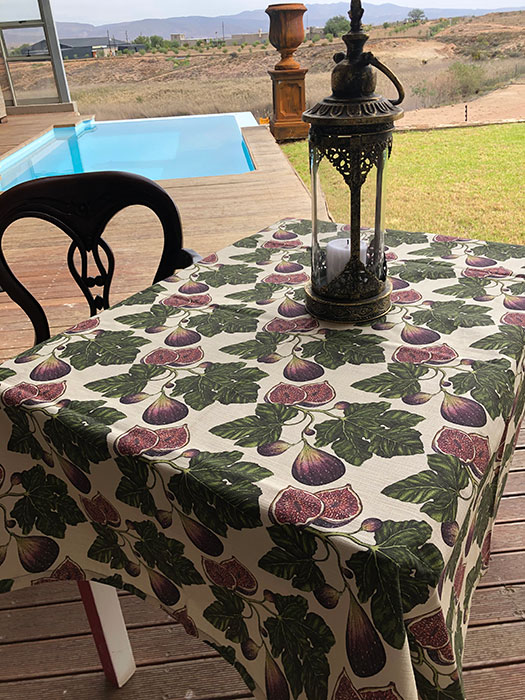 Table cloth Fig Big 4 seater