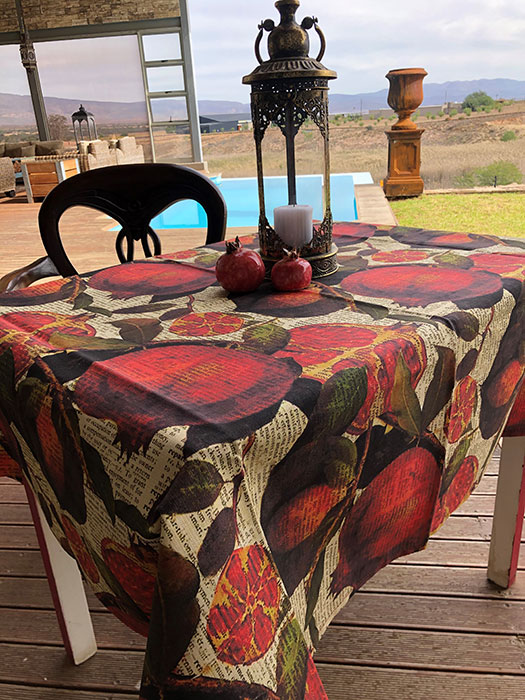 Table cloth Pom Big 4 seater